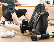Apprendre à se muscler avec un rameur à domicile