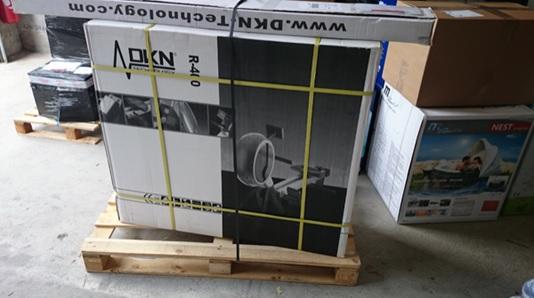 Montage du rameur R400 de la marque DKN