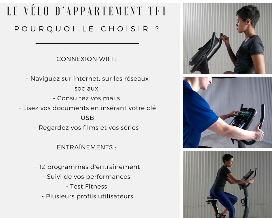 BH FITNESS TFT Vélo d'appartement