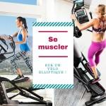 Se muscler sur un vélo elliptique