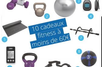 10 idées cadeaux fitness à moins de 60€