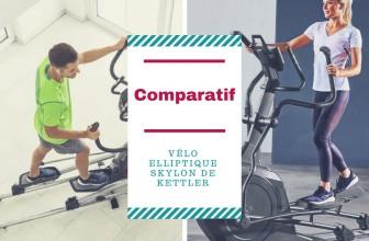 Comparatif vélo elliptique Skylon Kettler