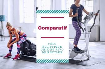 Comparatif vélo elliptique Unix et Rivo Kettler